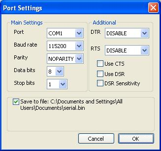 Rs232 monitor serial port communication software - How to determine the baud rate of a serial port ...